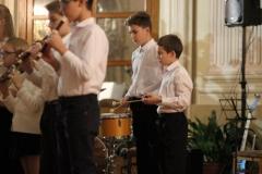 Bicí nástroje flétnového souboru